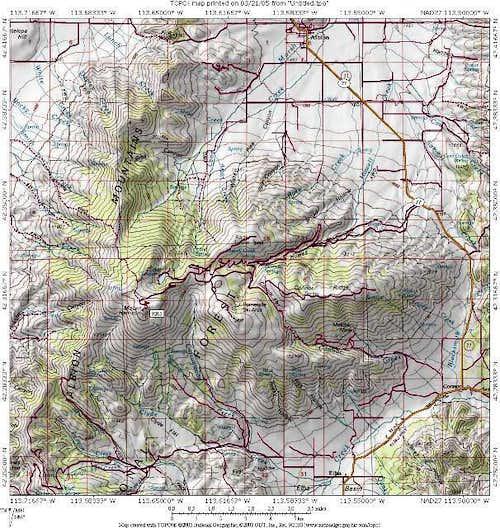 Mt. Harrison is an Idaho...