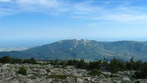 Mt. Harrison as it looks from...