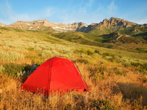 Hole In The Mountain Camp