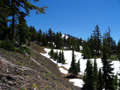 diamond peak NW ridge false summits