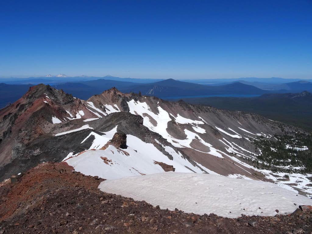 diamond peak north view