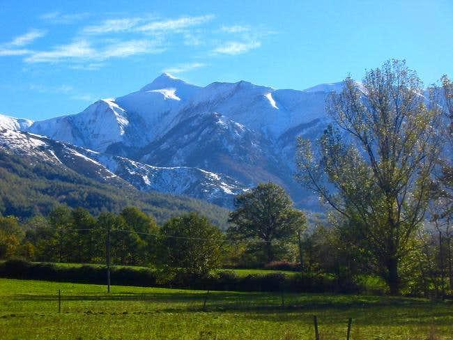 Monte Gorzano seen from...