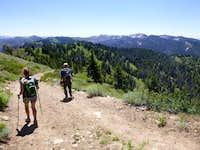 Wolf Mtn from Jackson Peak