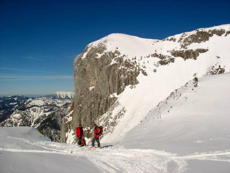Kaiserwart - Skitour