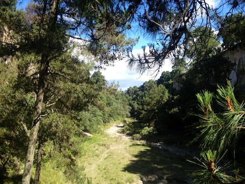 Cañada Los Pilares