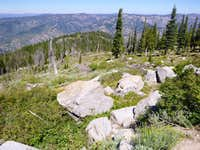 Deadwood Ridge from Jackson Peak Summit
