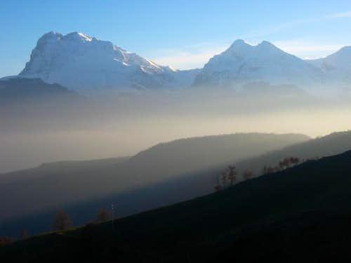 Corno Grande (2912 m) and...