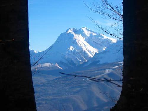 Corno Grande (2912 m) seen...