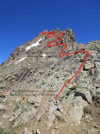 The East Ridge of the Wetterhorn