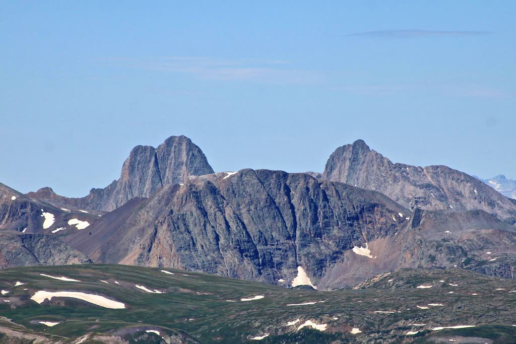 Vestal and Arrow Peak