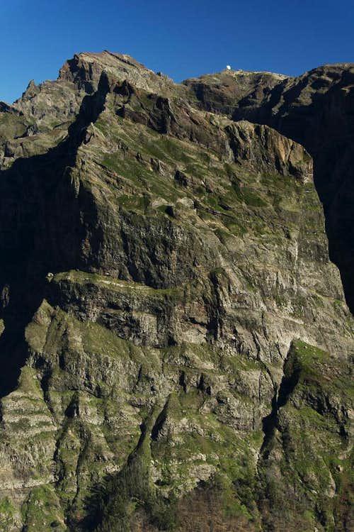 Pico Cidrao, Pico do Arierio