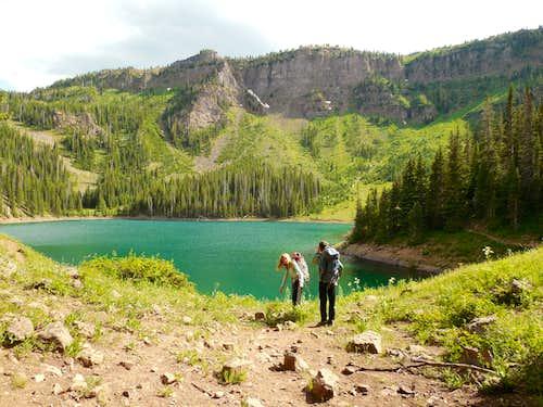 Mirror Lake and Paradise BM
