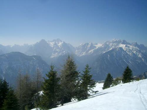 View of Julian Alps from...