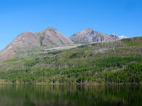 Peak 8680, Parke Peak & Peak 9430 West