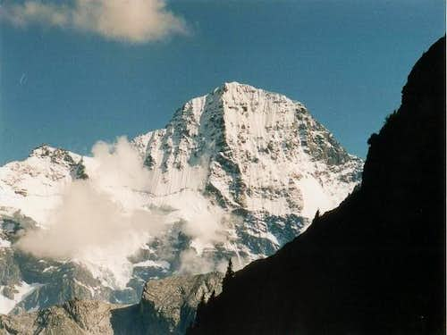 The Breithorn in Summer 2002...