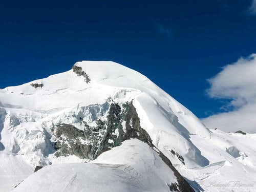 Allalinhorn (4027m) and the Normal Route