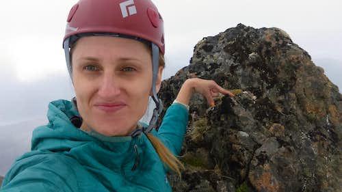 Sadie peak summit
