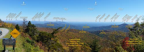 Laurel Knob Overlook (East)