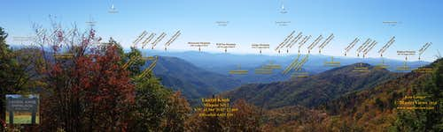 Laurel Knob Overlook (South)