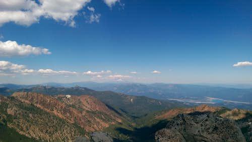Mt. Shasta from Gibson Peak