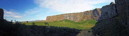 Asbyrgi valley