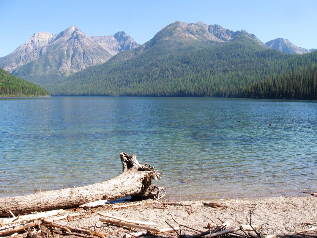 The View From Quartz Lake Campground : Photos, Diagrams ...