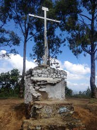Cerro Zapotecas summit cross