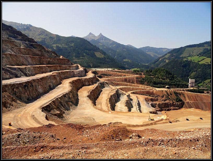 Erzberg mine
