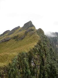 Hiking to South Peak
