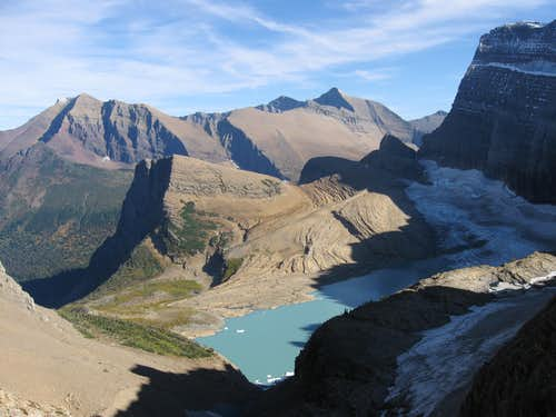 Grinnell Glacier From the Grinnell Glacier Overlook