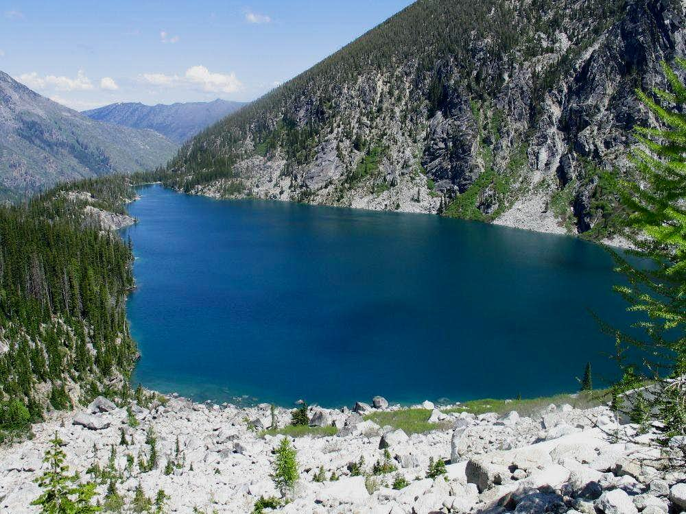 Colchuck Lake is a great area...