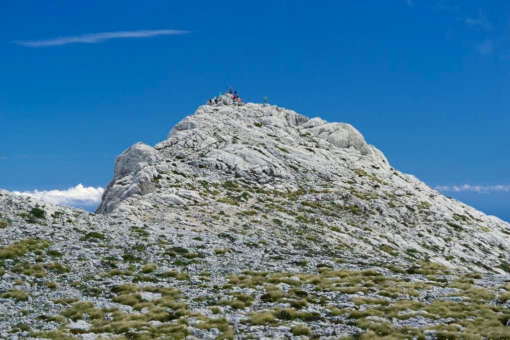 Solitude on the summit of Masssanella