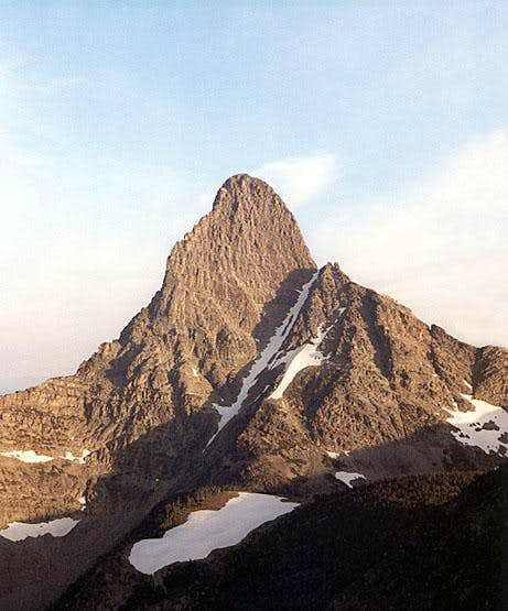 Mount Saint Nicholas from the southeast.