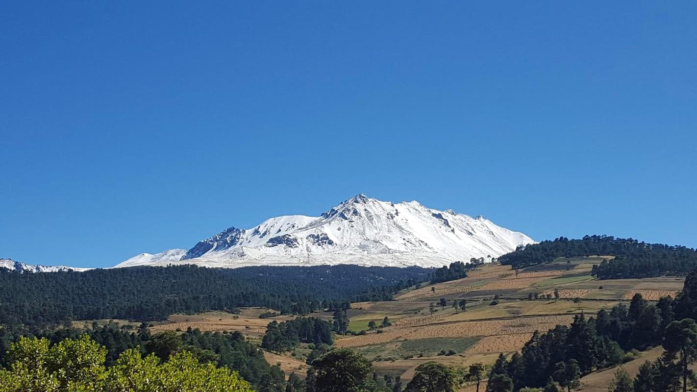 Nevado de Toluca after fresh snow : Photos, Diagrams & Topos ...