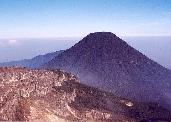 Mount Pangrango taken from...