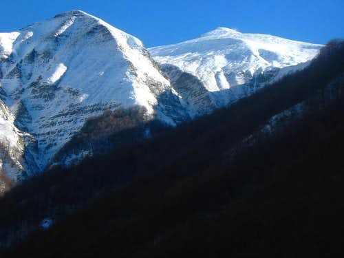 Monte Gorzano, seen from the...