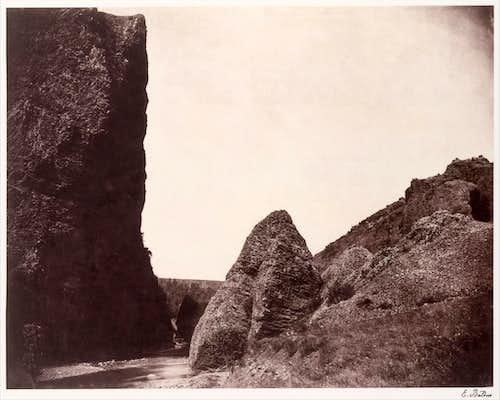 Auvergne rocks