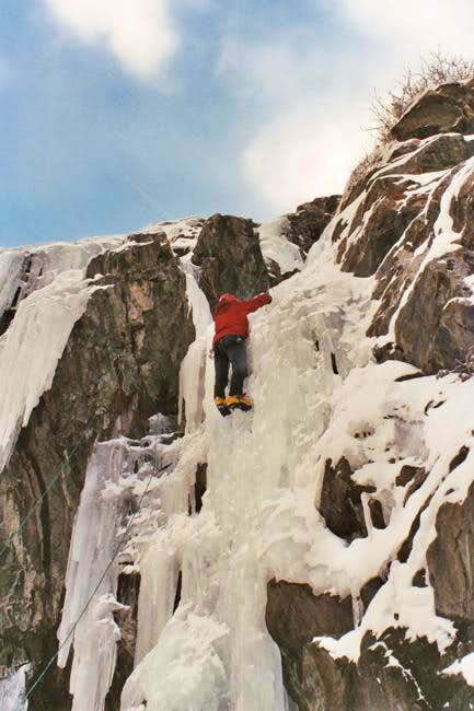 Mount Lincoln Icefall, Colorado