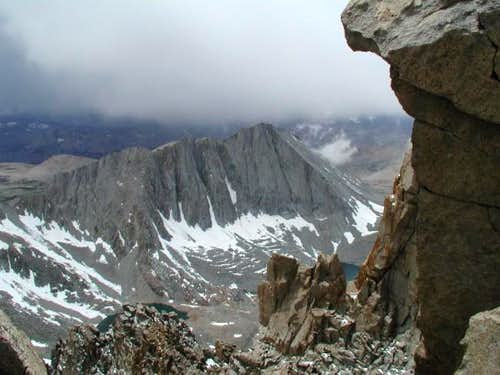 East face Tyndall, shot from...