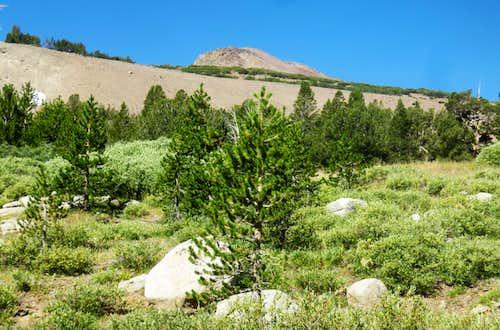 Approaching Wells Peak
