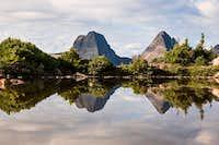 Arrow Peak and Vestal Peak Reflection