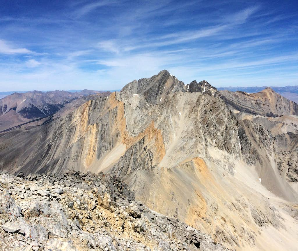Stunning view of Mt. Borah