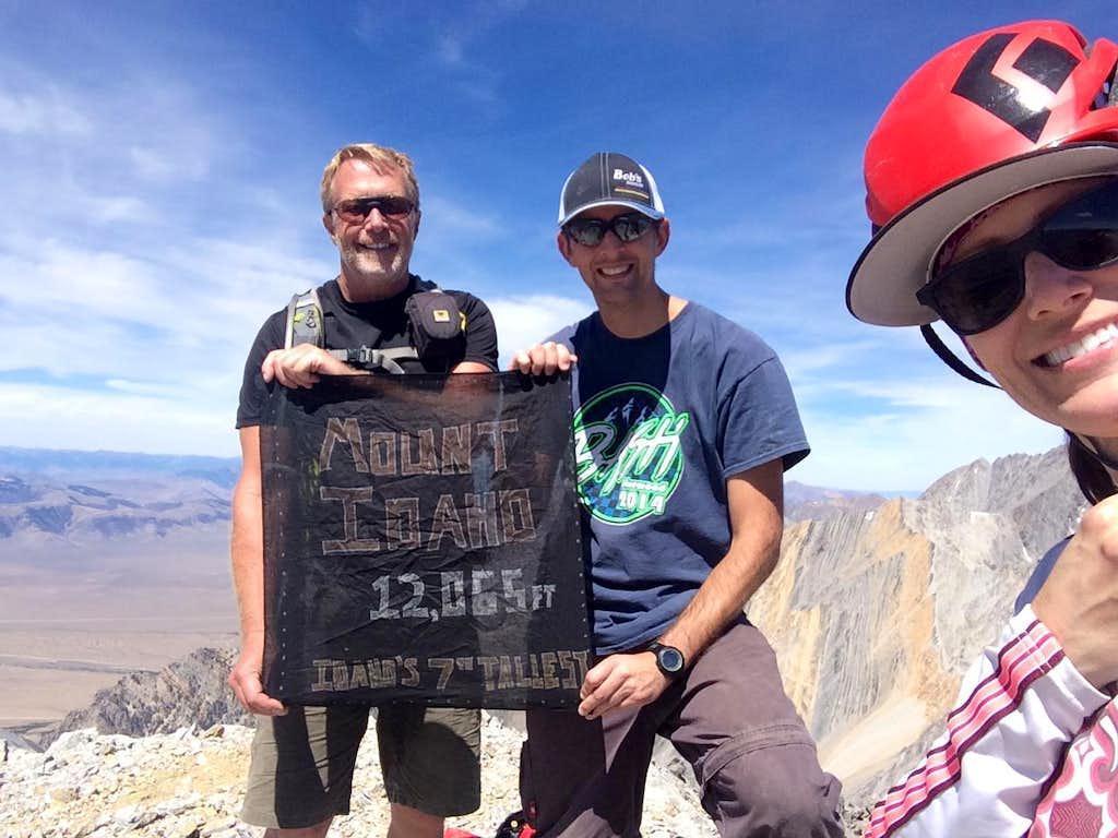 Dans 4th Idaho summit, Jason's 7/9 and my 5/9 12er