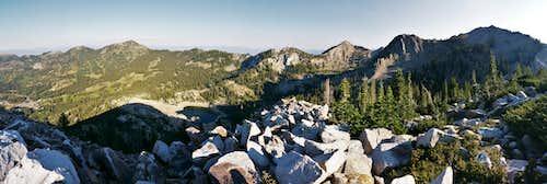 Mt. Millicent Panorama