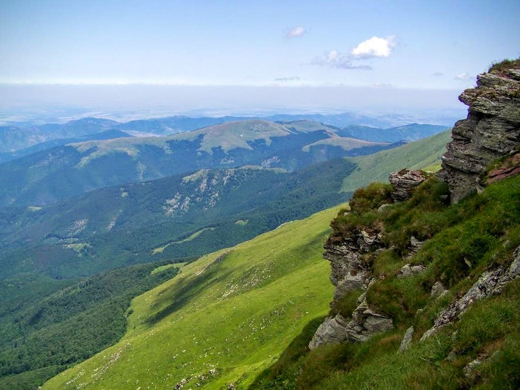 Stara Planina - the Bulgarian side