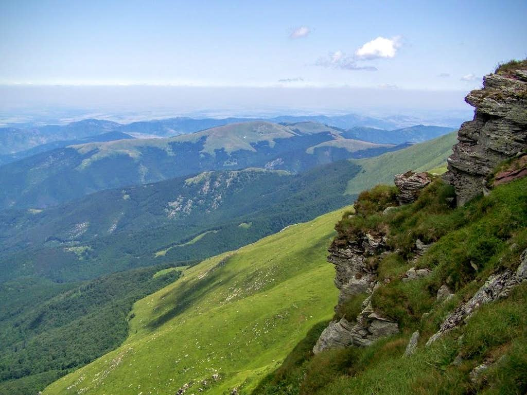 Stara Planina - the Bulgarian side