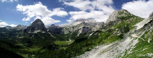 Velo Polje panorama