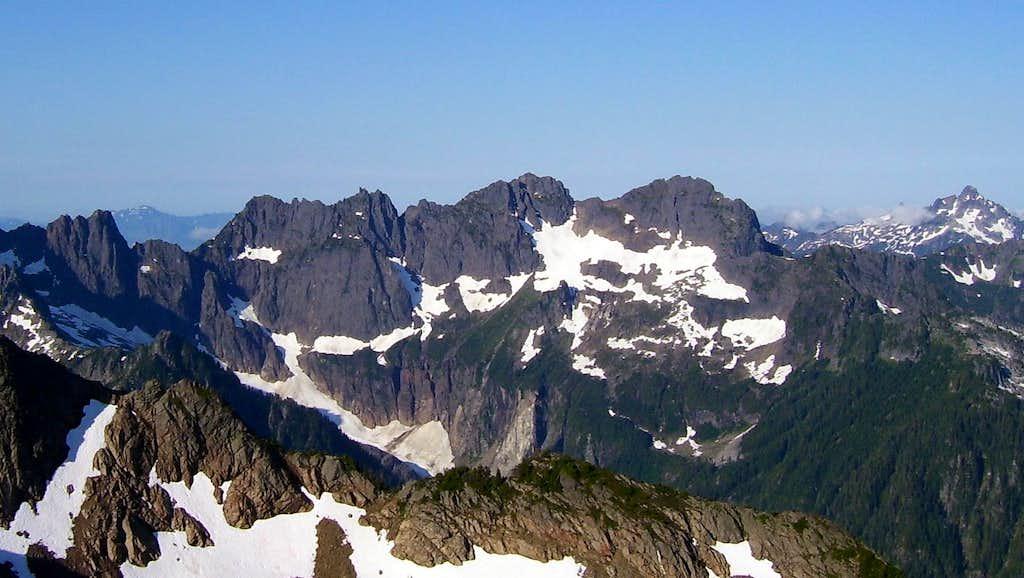 Gemini Peaks from Sloan Peak
