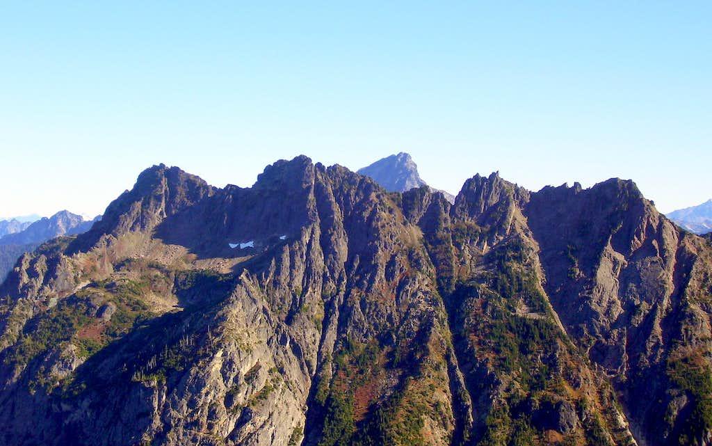 Gemini Peaks from Silvertip Peak