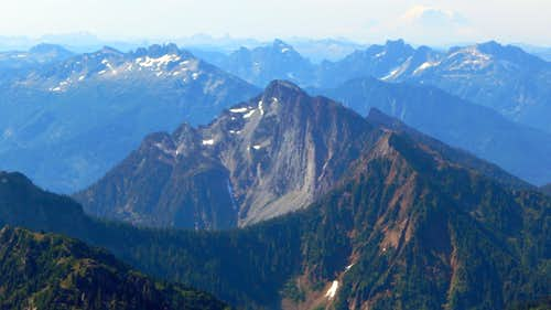 Hubbart Peak from South Gemini Peak